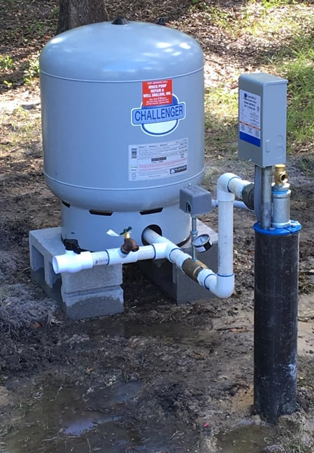 Submersible pump installation in Live Oak, FL